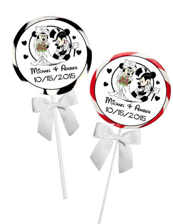 40  Disney Mickey and Minnie Wedding Favors by FAVORSXPRESS