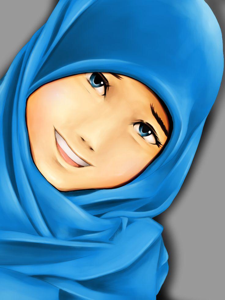 (Tracing)Hijabi by AbdurMpower.deviantart.com on @deviantART