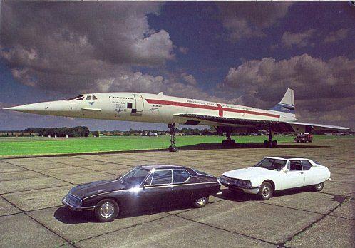 Concorde + Citroen SM
