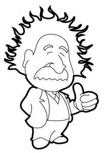 coloring pages pictures albert einstein put thumbs up coloring pages
