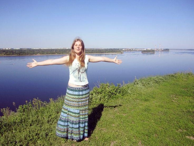 Волга. Городец (Нижегородская область)