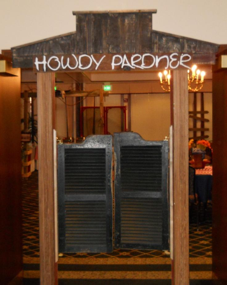 Built saloon doors to go in doorway at facility. & 20 best Saloon doors images on Pinterest | Swinging doors Wood ...
