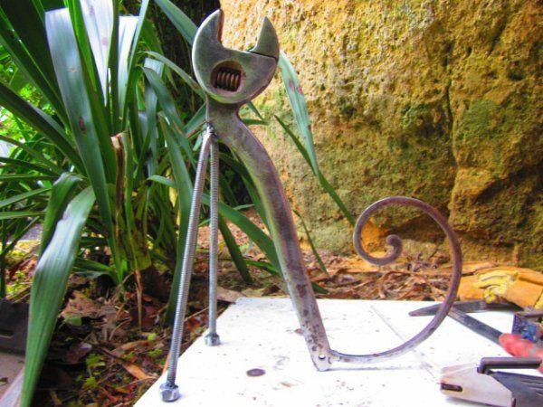 17 meilleures images propos de sculptures fer et bois - Sculpture metal jardin ...