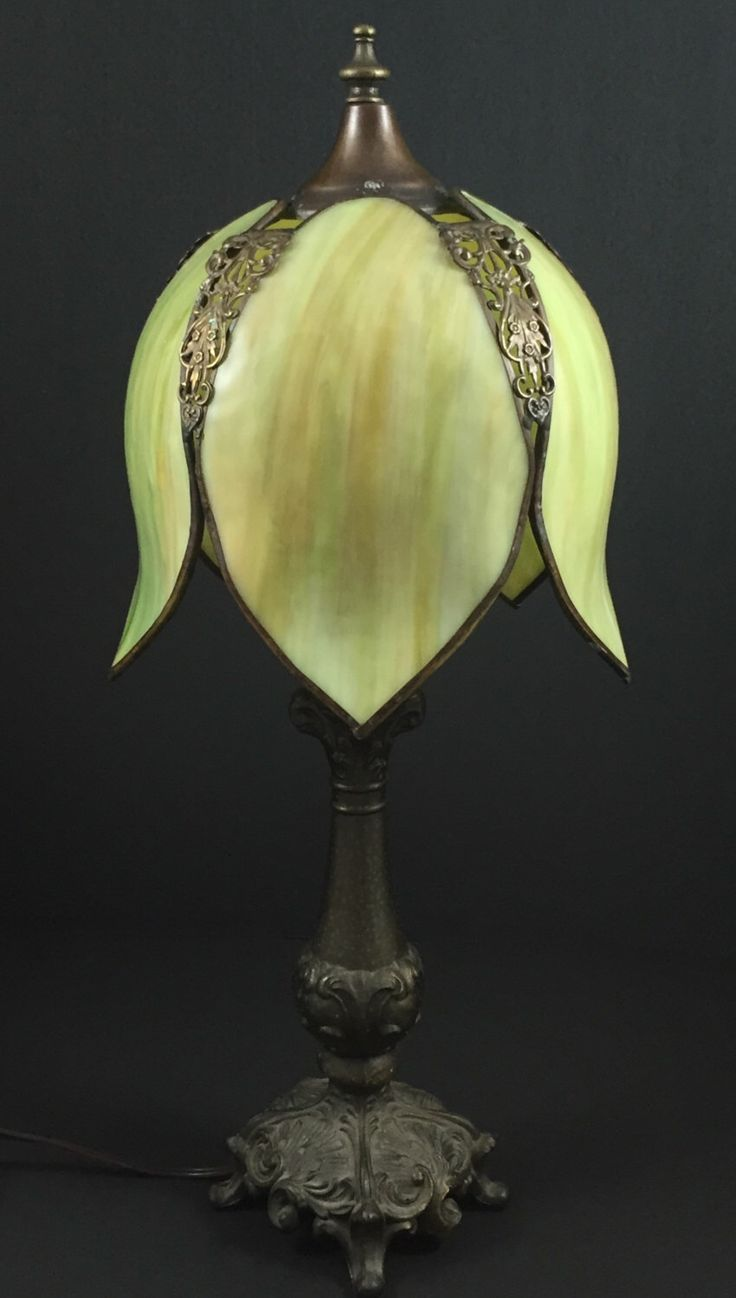 Vintage Light Shade,Green Slag Glass,Green Tulip Lamp,Green Stained Glass,Vintage Slag Glass,Vintage Tulip Lamp,Swag Lamp,Green Light Shade by FindsFromFormerTimes on Etsy https://www.etsy.com/listing/246739012/vintage-light-shadegreen-slag-glassgreen