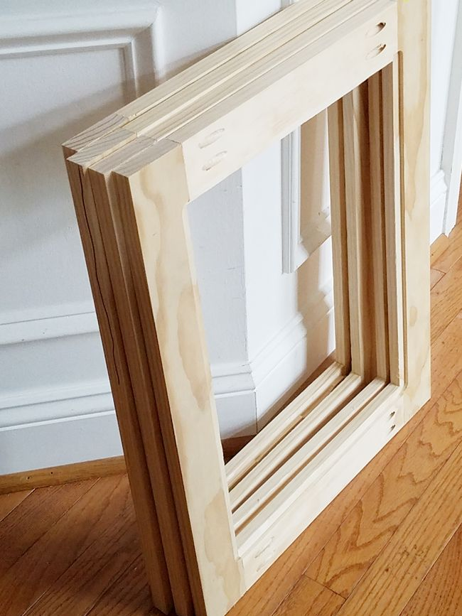 Shaker style cabinet doors - the frames