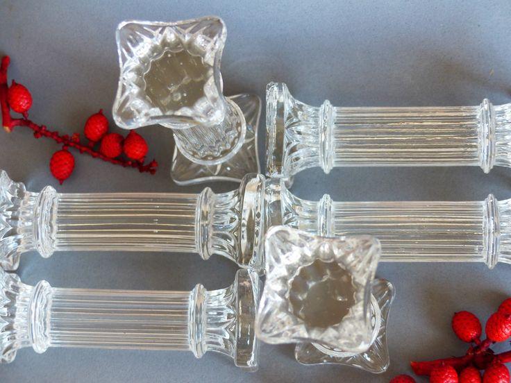 Vintage Glass Knife Rests. Knife & Fork Rests. Cut Glass Knife Rests…