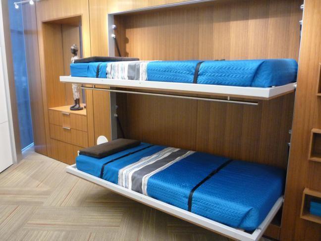 Residential murphy bunk beds wall beds