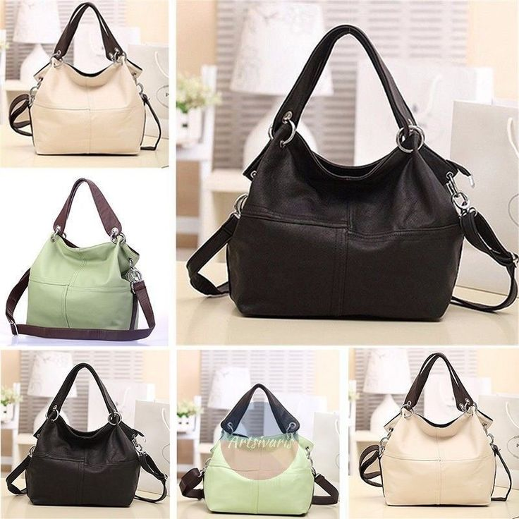 Women Lady Fashion Leather Satchel Handbag Shoulder Tote Messenger Crossbody Bag | eBay