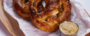 Store-bought pizza dough is your secret weapon when it comes to homemade pretzels.