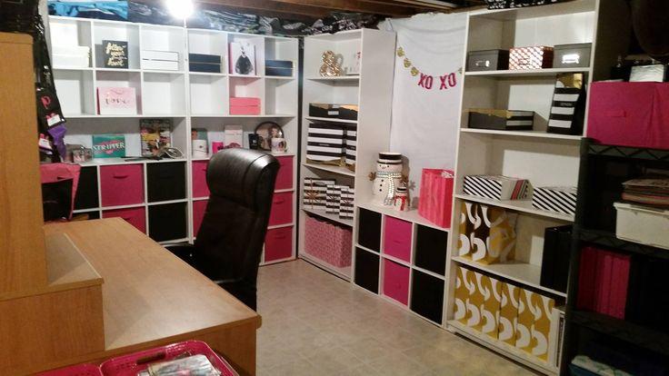 best 25 unfinished basements ideas on pinterest man. Black Bedroom Furniture Sets. Home Design Ideas