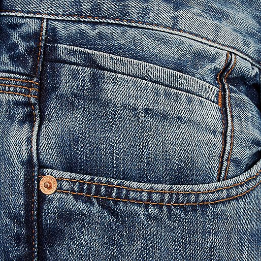 Jean bootcut delave