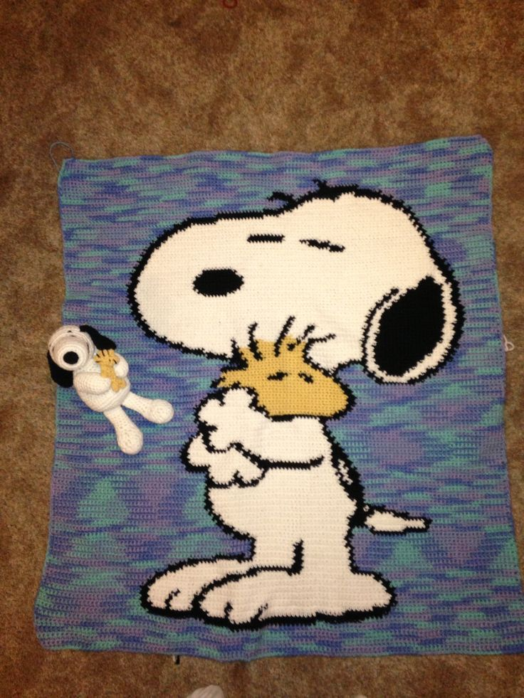 Snoopy Graphgan Snoopy And Woodstock Graphgan Crochet