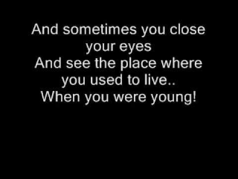 "The Killers - When You Were Young Lyrics ""You sit there in your heartache, waiting on some beautiful boy to save you from your old ways."""