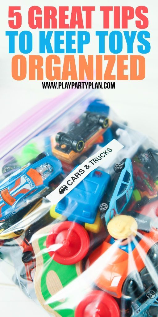 5 Tips to Keep Toys Organized