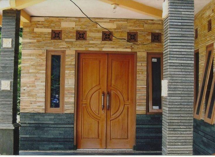 Keramik Dinding Depan Rumah Terlihat Menarik Home Design Images Door Design Interior Modern Minimalist House