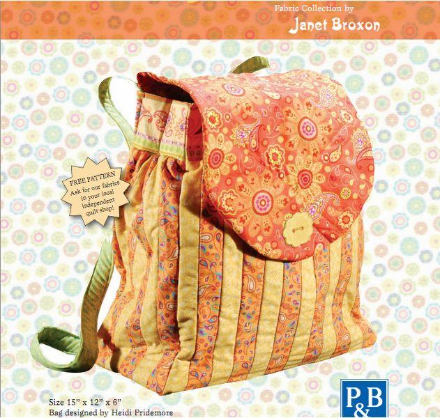 Chloe's Backpack Pattern
