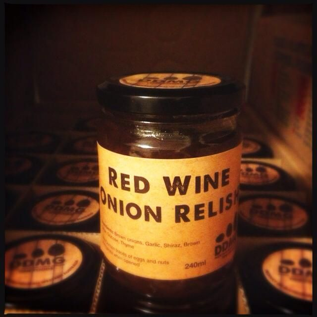 Red Wine Onion Relish from Duck Duck Mother Goose...