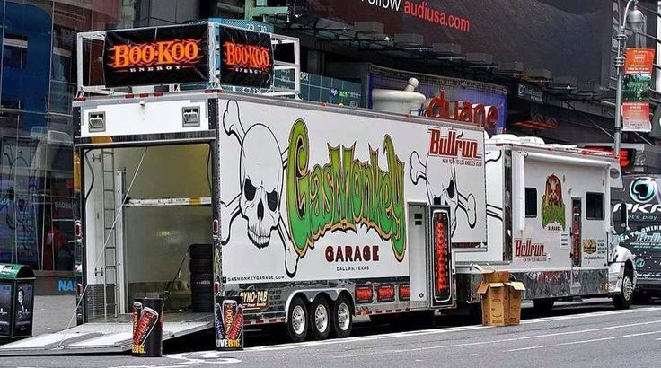 gas monkey trailer semi 39 s pinterest trailers monkey. Black Bedroom Furniture Sets. Home Design Ideas