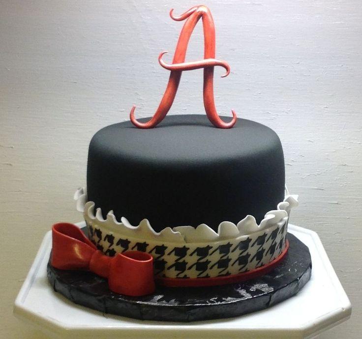 Alabama Football Birthday Cake Ideas