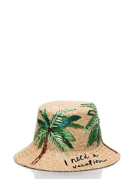 i need a vacation cloche hat -- Kate Spade