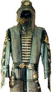 Circassian costume.  Koschei.