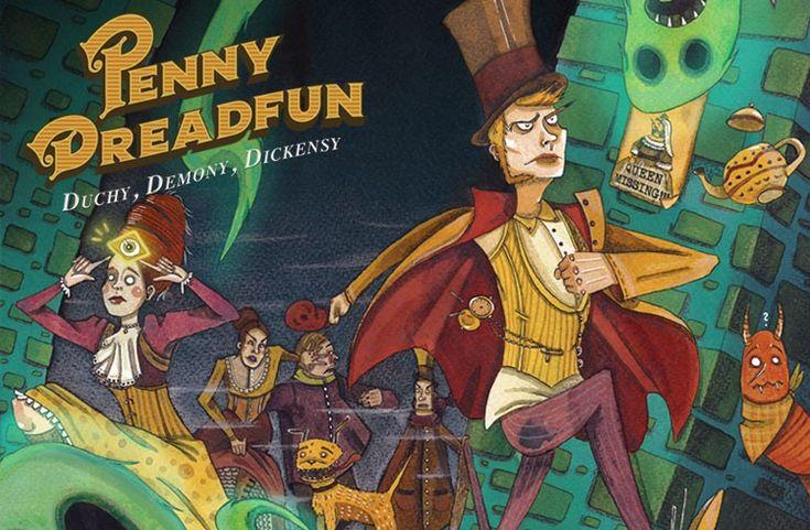 PENNY DREADFUN: Duchy, Demony, Dickensy na Wspieram.to