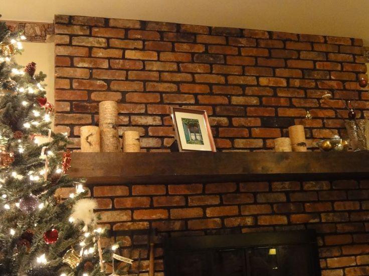 diy mantel shelf box home sweet home pinterest. Black Bedroom Furniture Sets. Home Design Ideas