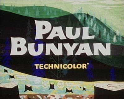 Paul Bunyan is an animated short that was released on August 1, 1958. Following a violent windstorm on the coast of Maine, lumberjack Cal McNab spots a giant cradle on the beach containing a giant baby boy. The town adopts and raises the boy, giving him the name Paul Bunyan. One Christmas, the town gives Paul a double-bladed axe to help chop down timber. Paul's work clears open land and allows for the town's expansion of buildings. Unfortunately, Paul is too big for it and decides to...