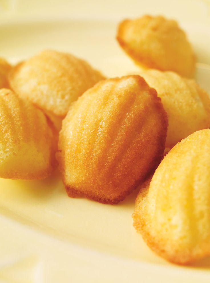 Recette de Ricardo de madeleines au citron