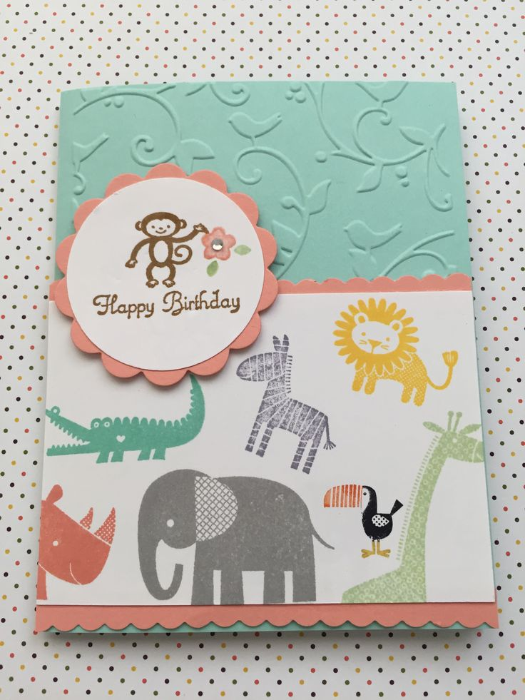 136 best Stampin Up - Zoo Babies / Wild About You images on ...