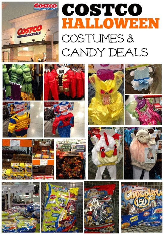 Costco Halloween Costumes and candy deals