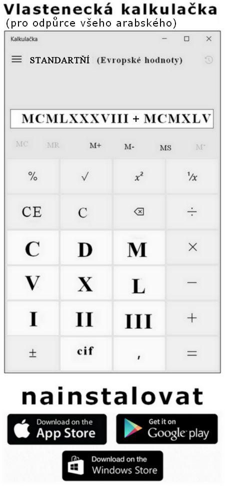 Stylová kalkulačka