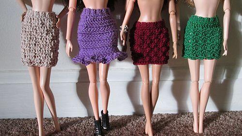 Barbie Skirt Stitch Variations
