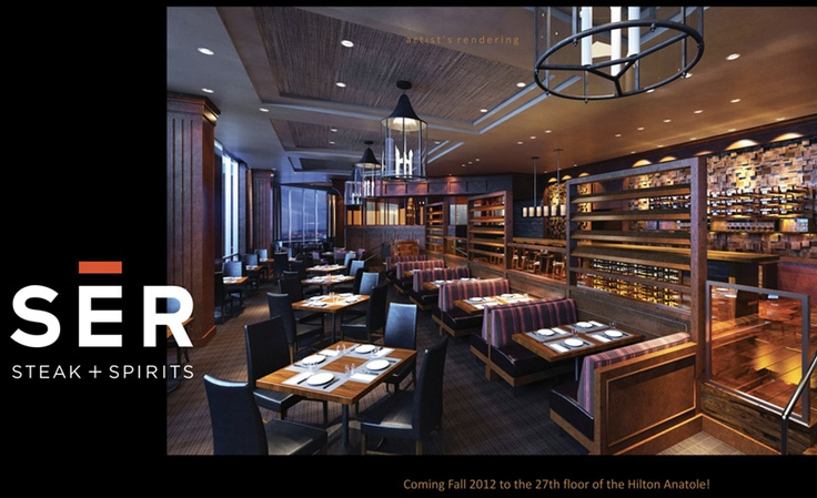 Ser Steak Spirits Atop The Anatole Coming Fall 2012