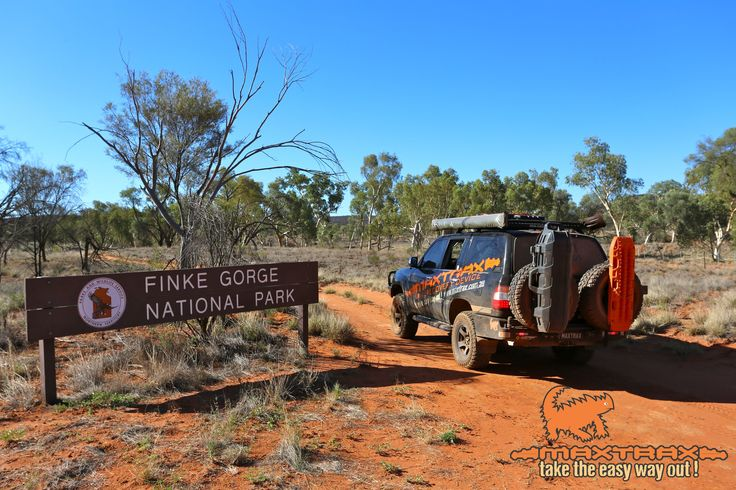 MAXTRAX discovering the Finke Gorge National Park, Northern Territory