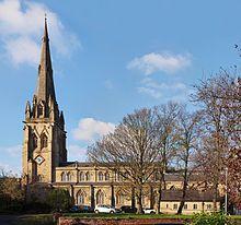 Preston, Lancashire - St John's Minster, on Church Street