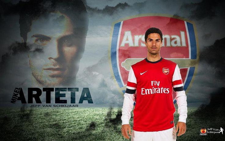 Arsenal Mikel Arteta Wallpaper