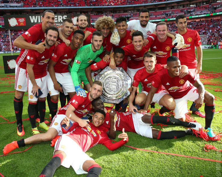Manchester United Community SHield Winners 2016/17