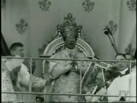 ▶ The Coronation of Pope Pius XII - YouTube