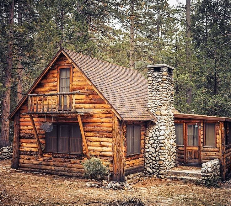 Cabin In The Woods Log Cabin Homes Small Log Cabin Rustic Cabin