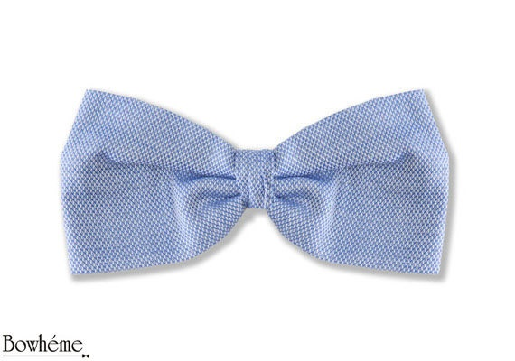 Ready Tied Bow Tie Light BlueTOMASI. Father's day gift. by Bowheme, $9.50