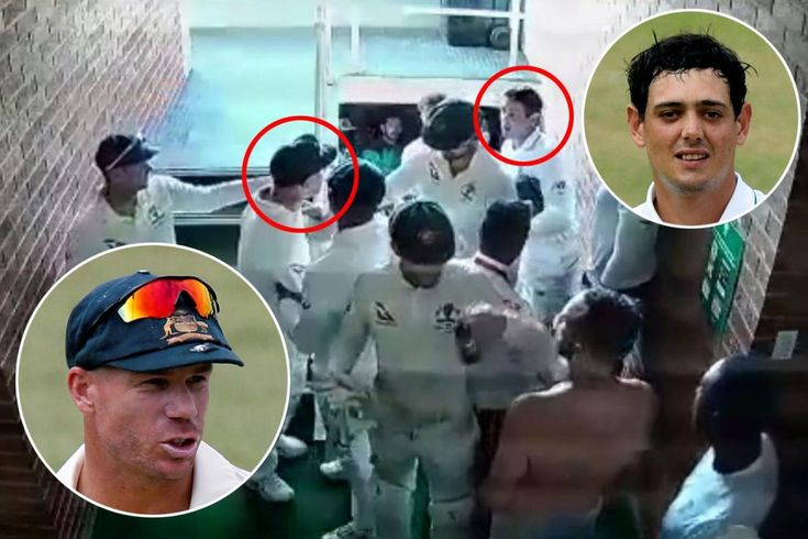 AUSSIE bad boy David Warner and South African wicket-keeper Quinton de Kock have been concerned in a serious behind-the-scenes bust-up on the fourth day of the primary Check. Cricket Australia have launched an investigation after CCTV footage emerged displaying Warner and De Kock confront one a...