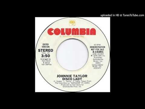 Disco Lady - Johnnie Taylor