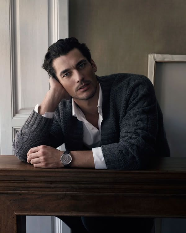 MishmashD: David Gandy in DV Man, GQ China & Massimo Dutti F/W 2009 Ad Campaign