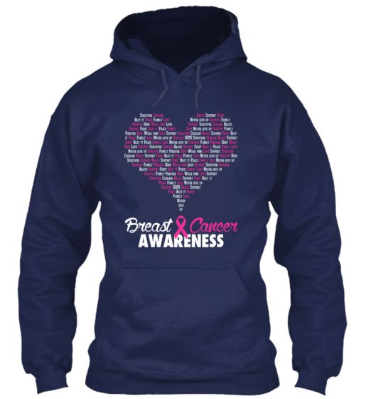 National Breast Cancer Awareness Month - NBCAM | White & Pink on Teespring