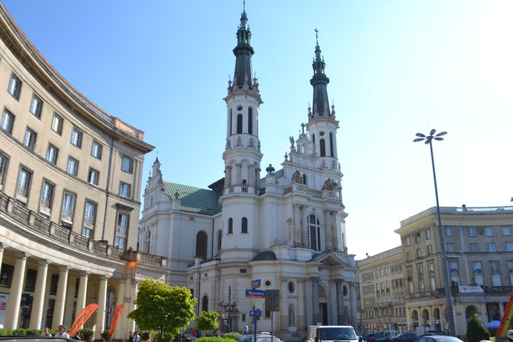 Church in Warsaw, Poland