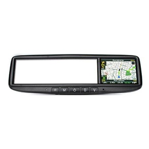 Acessórios Nova Ranger Cabine Simples - Espelho retrovisor interno com GPS multifunções