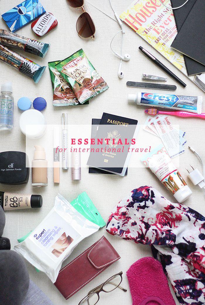 Essentials for International Flight | Ashlee Proffitt