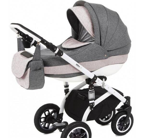 Детская коляска Adamex 2в1 Lara ECO 613K  Цена: 305 USD  Артикул: MP10628  Детская коляска Adamex 2в1 Lara ECO многофункциональная детская коляска для прогулок с Вашим малышом. Алюминиевая рама; двойной амортизатор; надувные колеса и поворотные передние колеса; компактные размеры; регулируемый подголовник люльки, а также спинки и подножки прогулочной части; закрываемая вместительная корзина для покупок; держатель для бутылки; обшитая кожей ручка – все необходимое для удобного, комфортного…