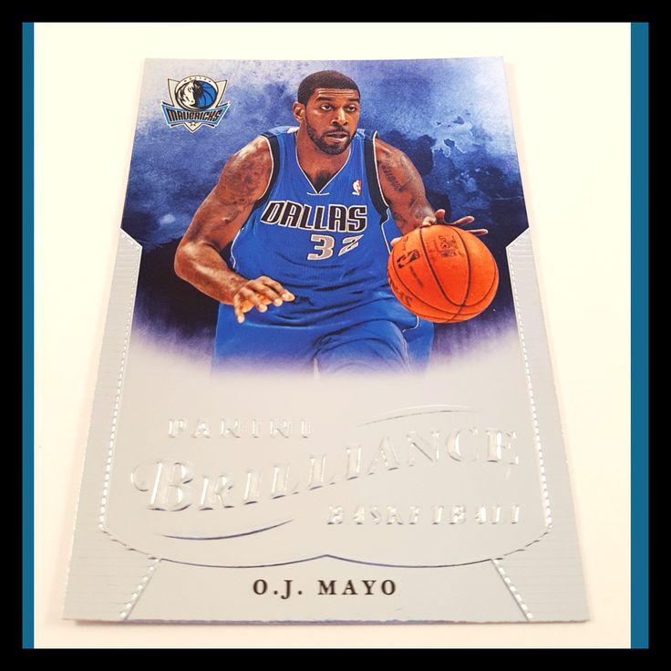 O. J. Mayo Basketball Card (2012-13 Panini Brilliance)